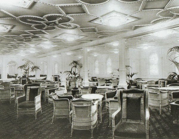 1st Class Reception Room - D Deck